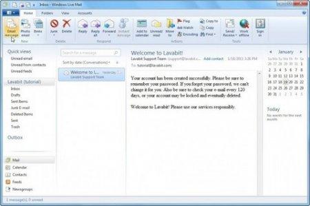 Microsoft Outlook Express скачать на русском языке