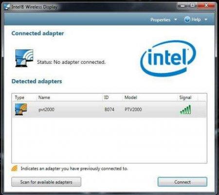 Intel WiDi скачать для Виндовс 7, 8, 10